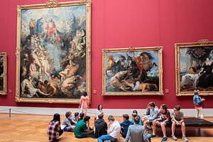 Alte Pinakothek - The Great Last Judgment by Rubens