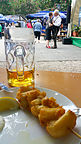 Food and dancing in the Orleansplatz