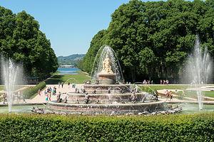 Gardens at Schloss Herrenchiemsee