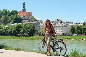 Biking to Salzburg