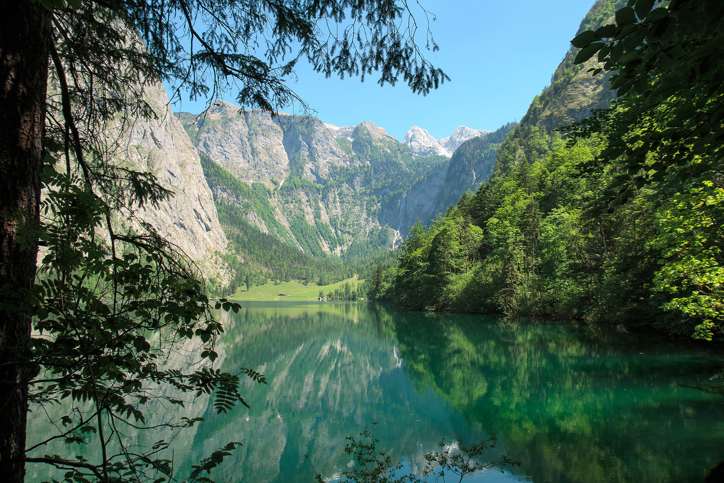 The Obersee on our hike to the Rothbachfall