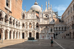 Courtyard of the Doge's Palace