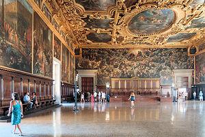Sala del Maggiore Consiglio in the Doge's Palace