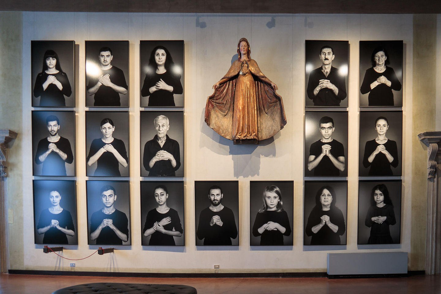 """Correr Museum - """"The Home of My Eyes"""" exhibit by Shirin Neshat."""