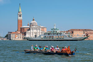 St. Mark's Square from or Vaporetto ride along the Grand Canal