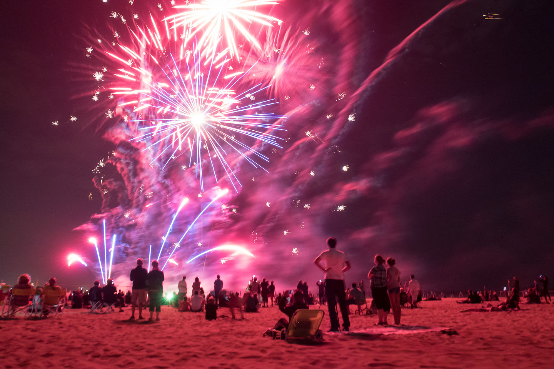Fireworks at Camping Marina di Venezia