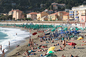 The colors of Levanto Beach