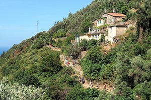 From Monterosso to Vernazza on the Sentiero Azzurro