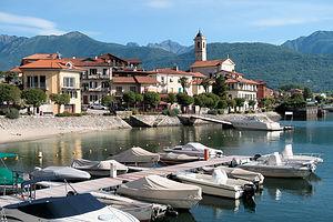 Feriolo on Lake Maggiore