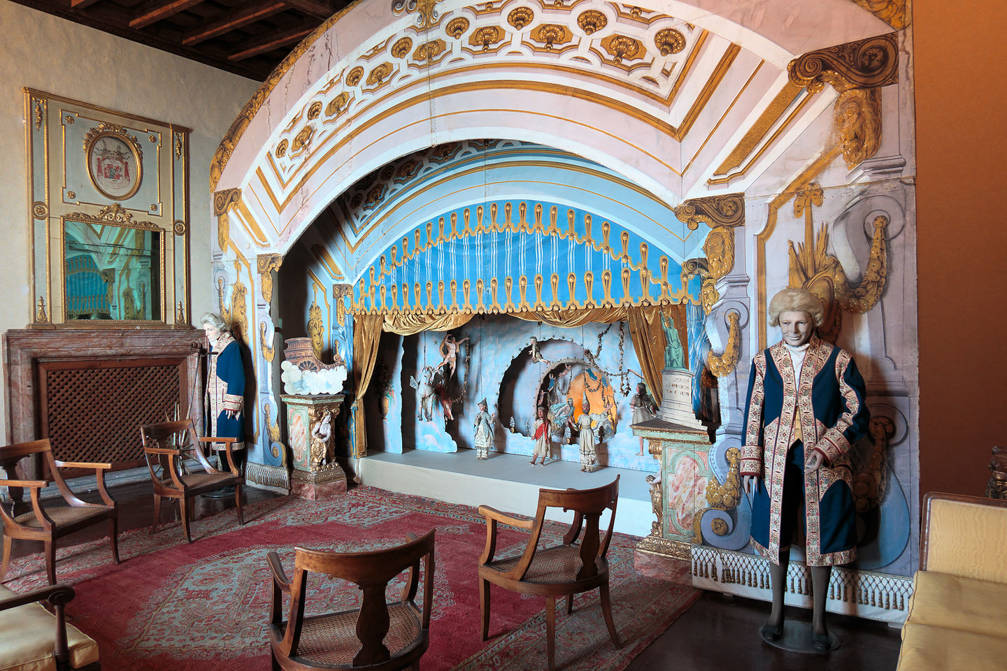 Isola Madre Puppet Theater