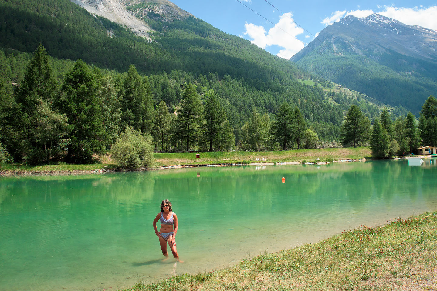 Lolo hits the Schalisee