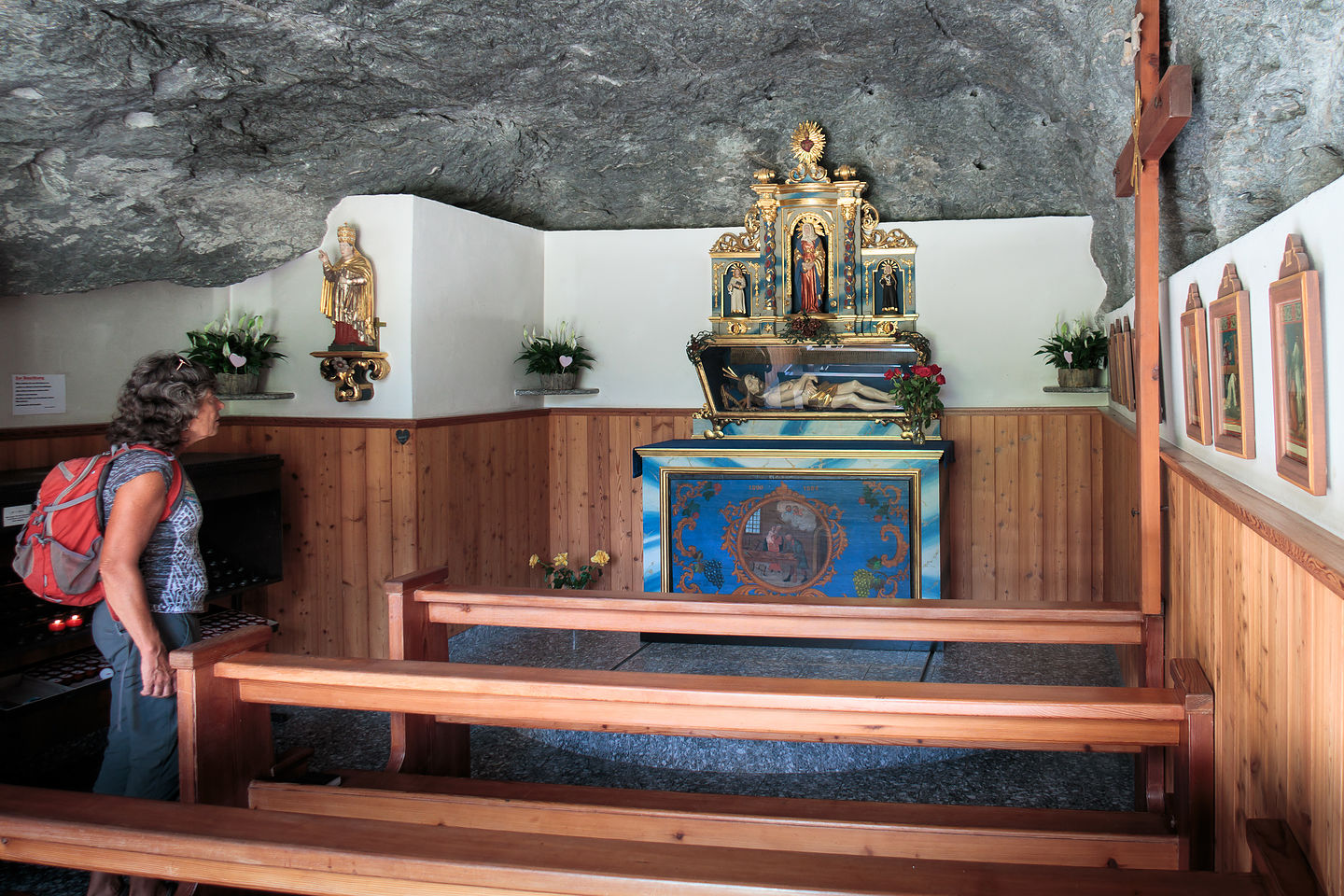 Interior of Fuxstein Chapel