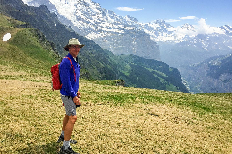 Herb on Mannlichen Ridge