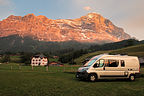 Grindelwald - Camping at the base of the Eiger