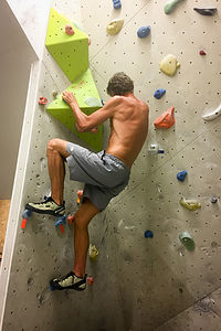 Herb climbing at the Grindelwald Sportzentrum