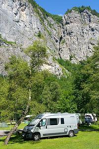 Camping Rutti in Stechelberg