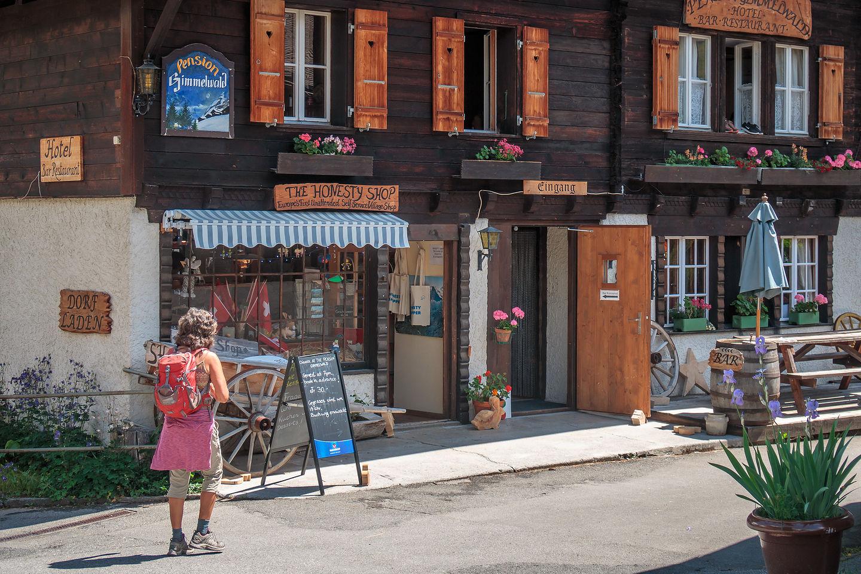 """The Gimmelwald """"Honesty Shop"""""""