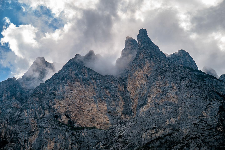 Horns over Lauterbrunnen Valley