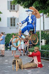 Lucerne street performers
