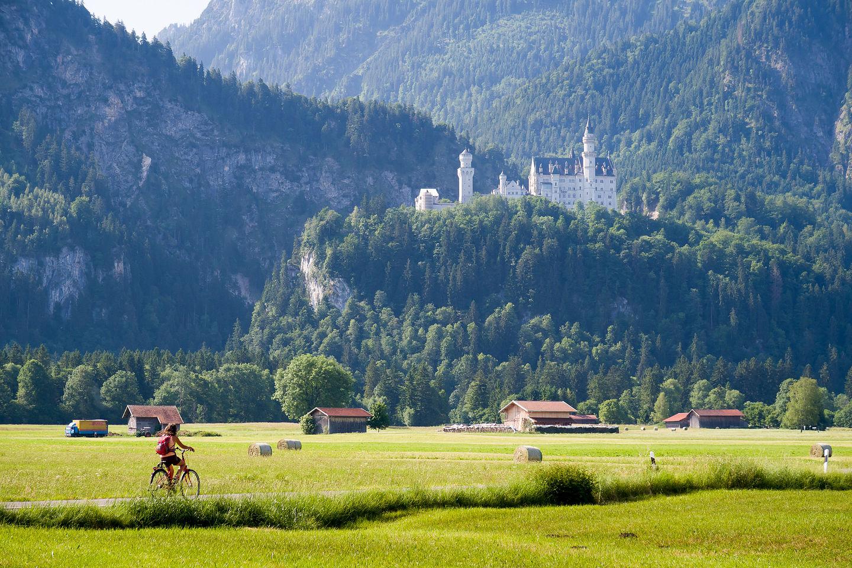 On the way to Schloss Neuschwanstein