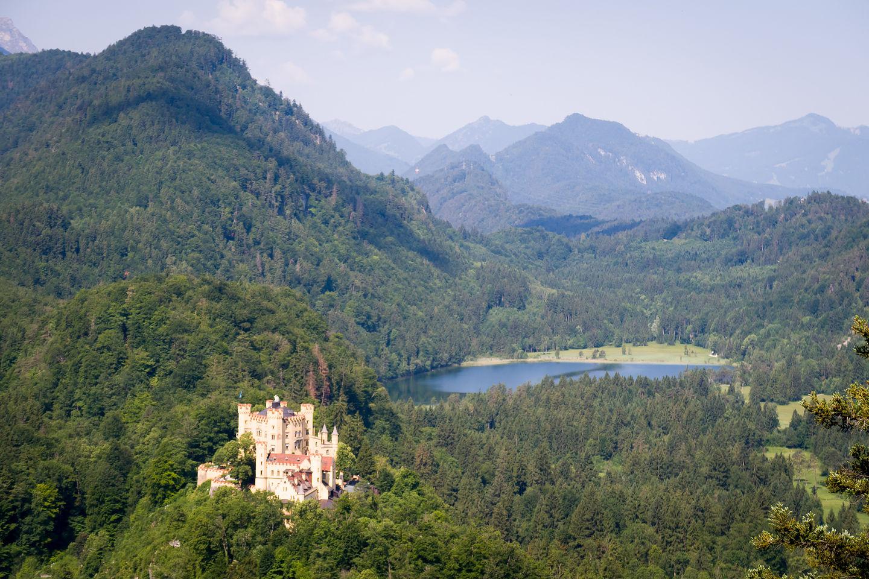 View of Schloss Hohenschwangau