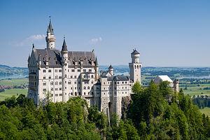 Schloss Neuschwanstein from the Marienbrucke