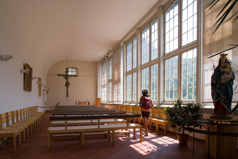 Hohenschwangau royal family chapel