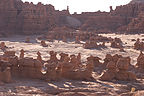 Goblin Valley in morning light
