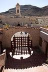 Scotty's Castle courtyard