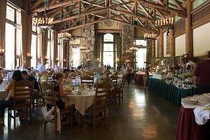 Ahwahnee Hotel dining room