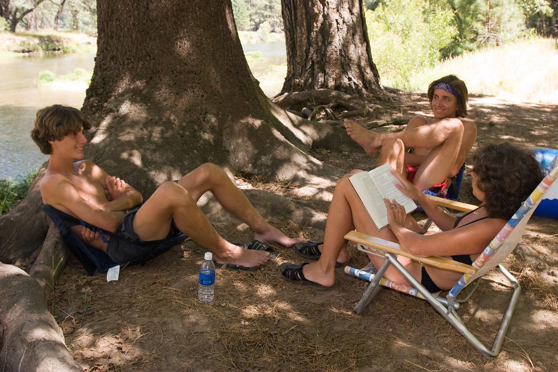 Lolo and boys at El Capitan Vista