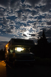 Lazy Daze in Great Basin campground