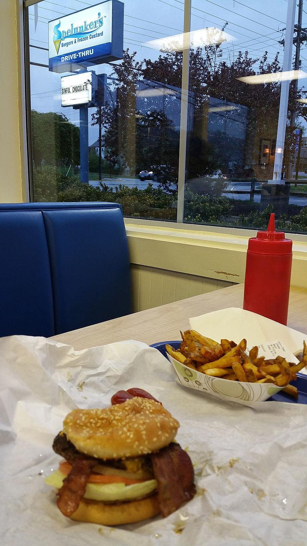 Spelunker Burger Dinner