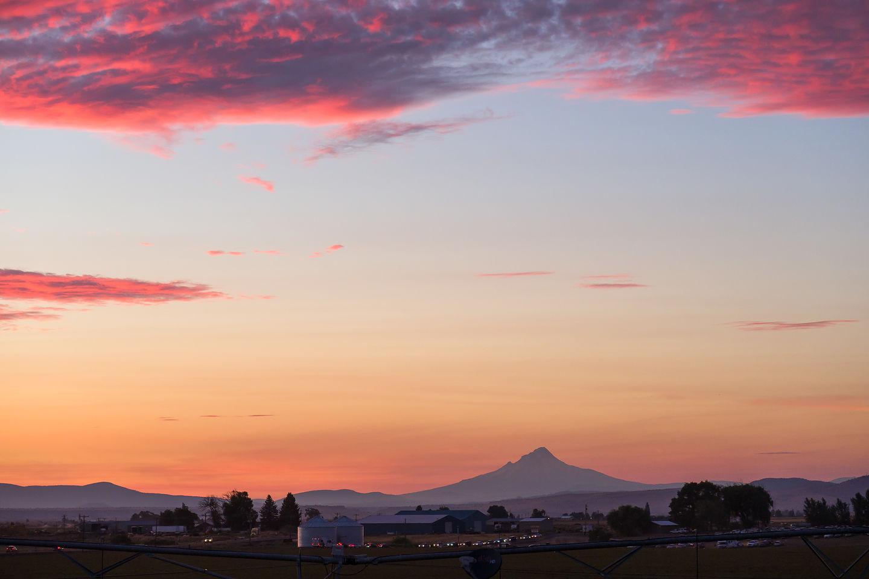 Mt. Jefferson from Solartown