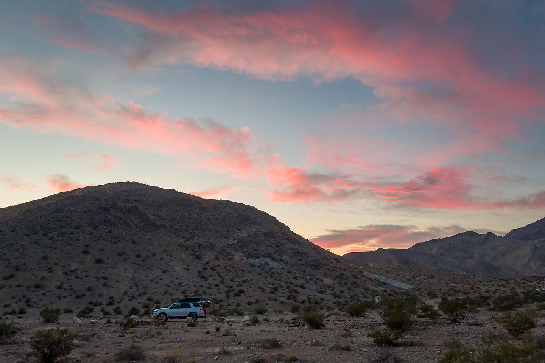Our Racetrack campsite