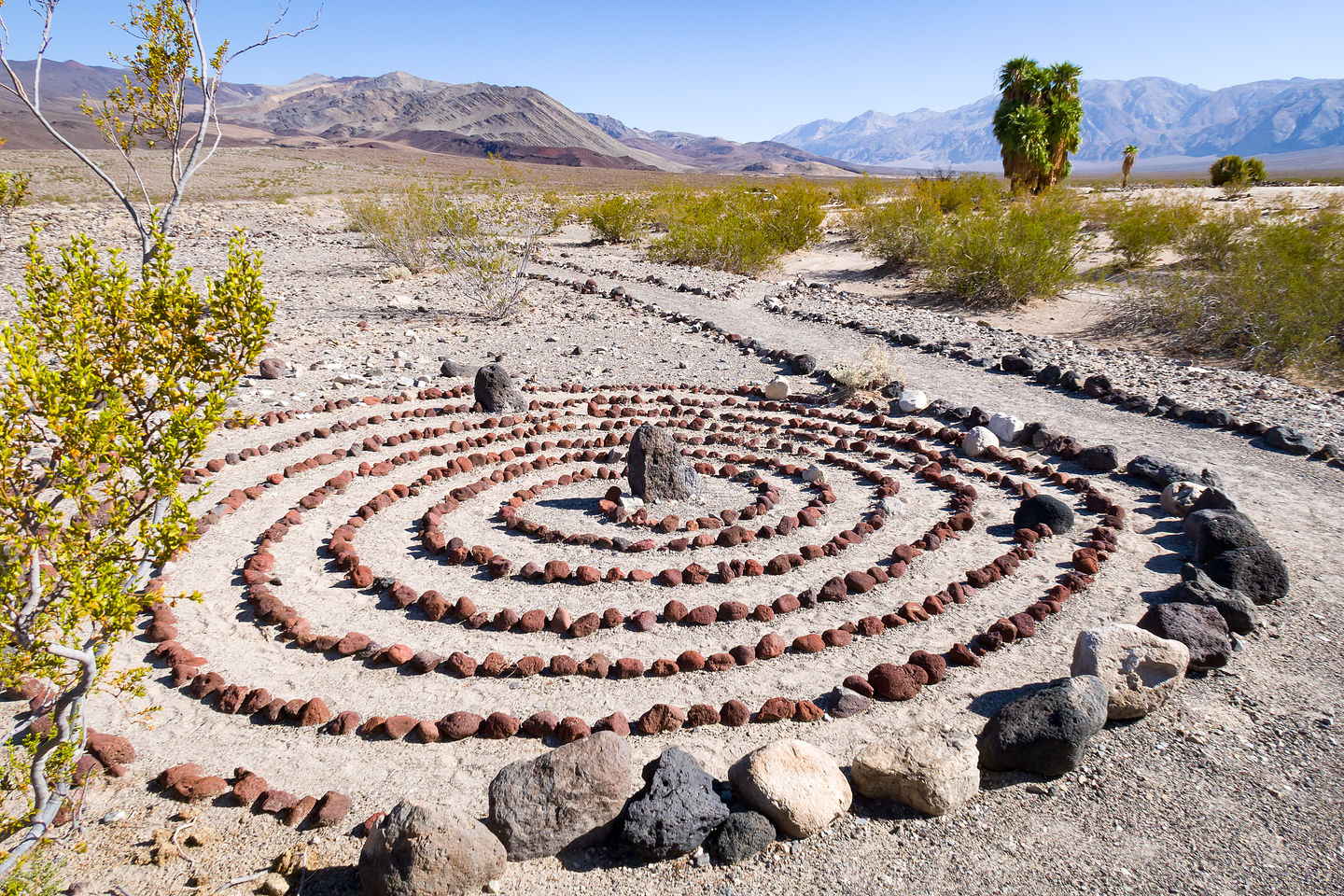 Outdoor art at the springs