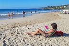 Lolo on Hapuna Beach