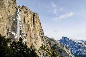 Trickling Yosemite Falls