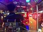 View out of our tuk tuk