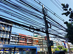 Typical electrical wiring in Thailand