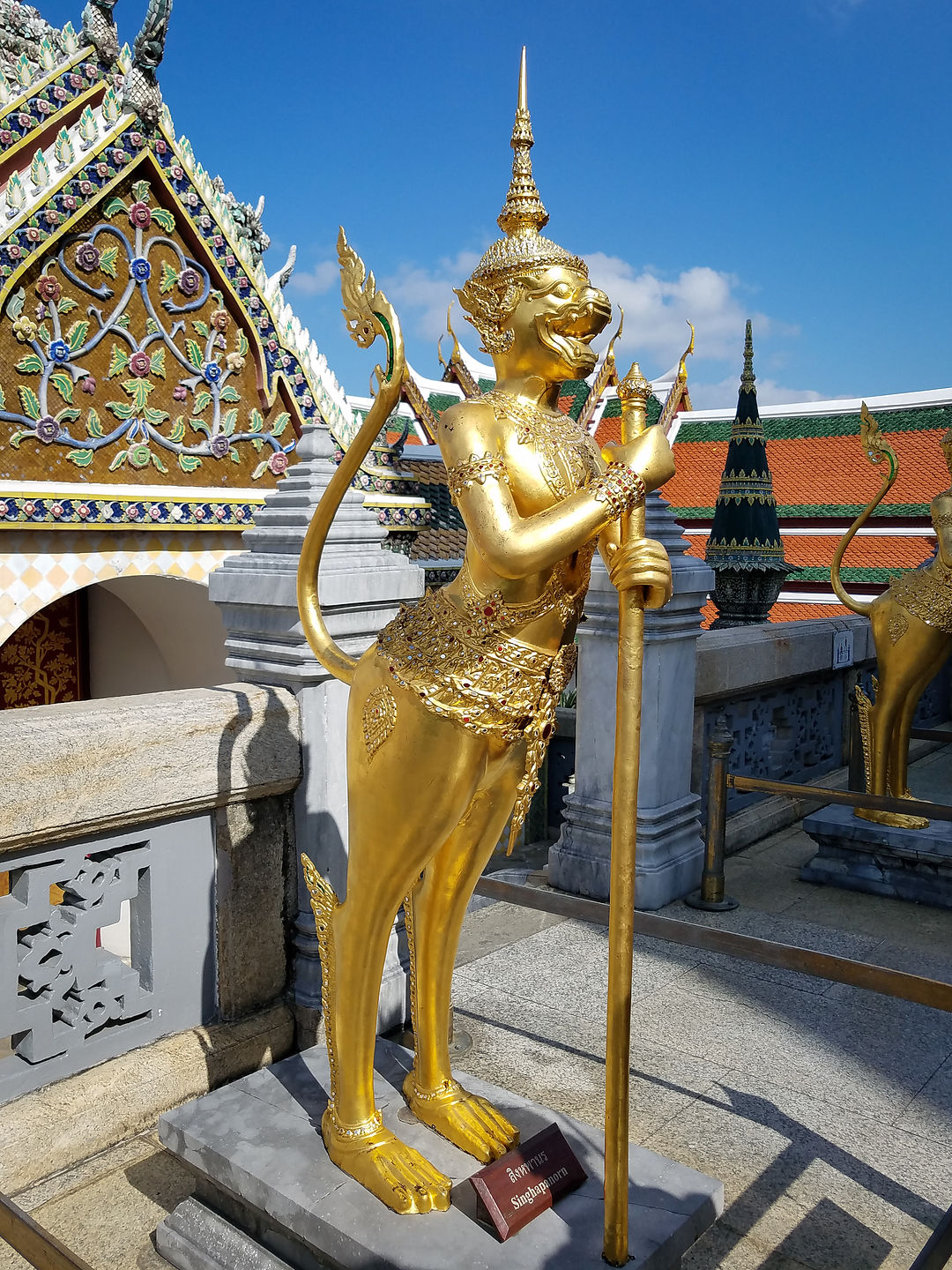 Kinaree at Wat Phra Kaew
