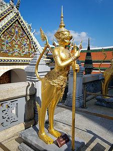 Kinaree at Wat Phra Kaew