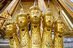 5-headed nagas of Wat Phra Kaew