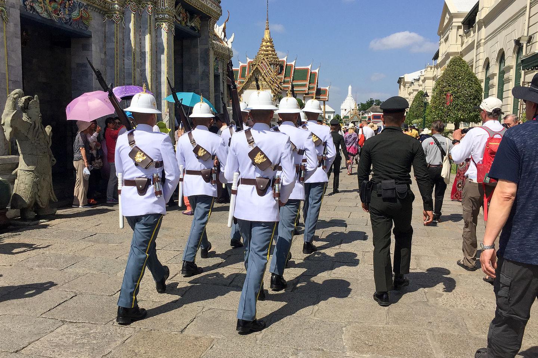 Changing of the Royal Guard at the Grand Palace