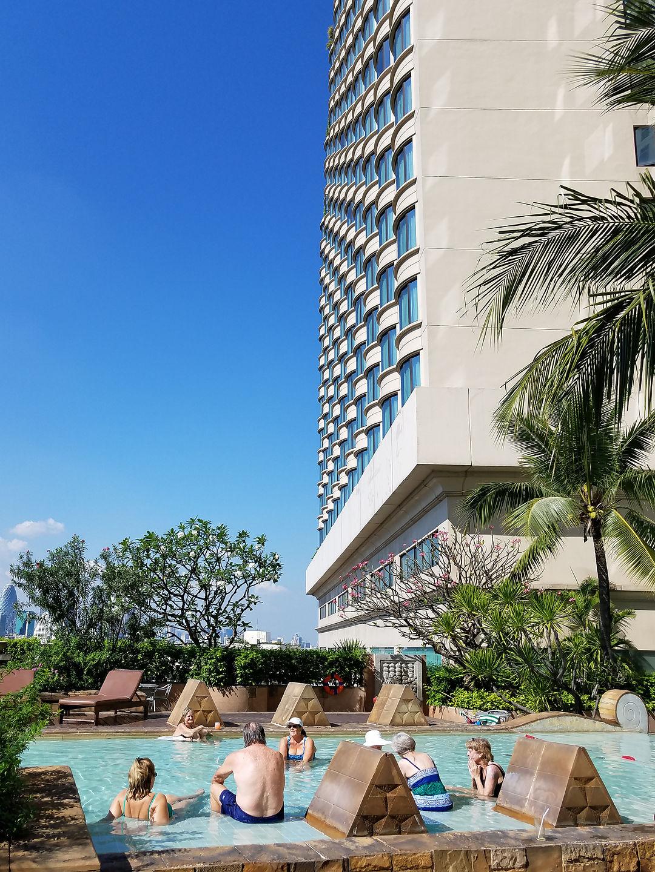 Century Park Hotel pool