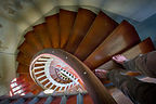 Staircase up the Lookout Tower