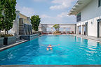Kantary Hotel pool in Ayutthaya