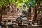 Mat Mahathat in Ayutthaya