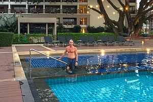 Pool at Le Meridien Chiang Rai