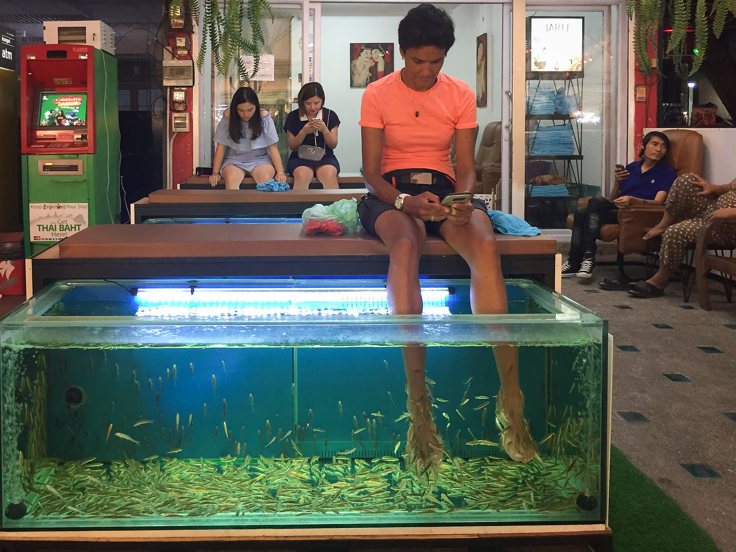Fish spa anyone?
